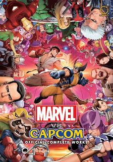 artbook capcom marvel street fighter x men