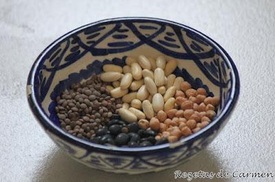 Recopilatorio de recetas de legumbres