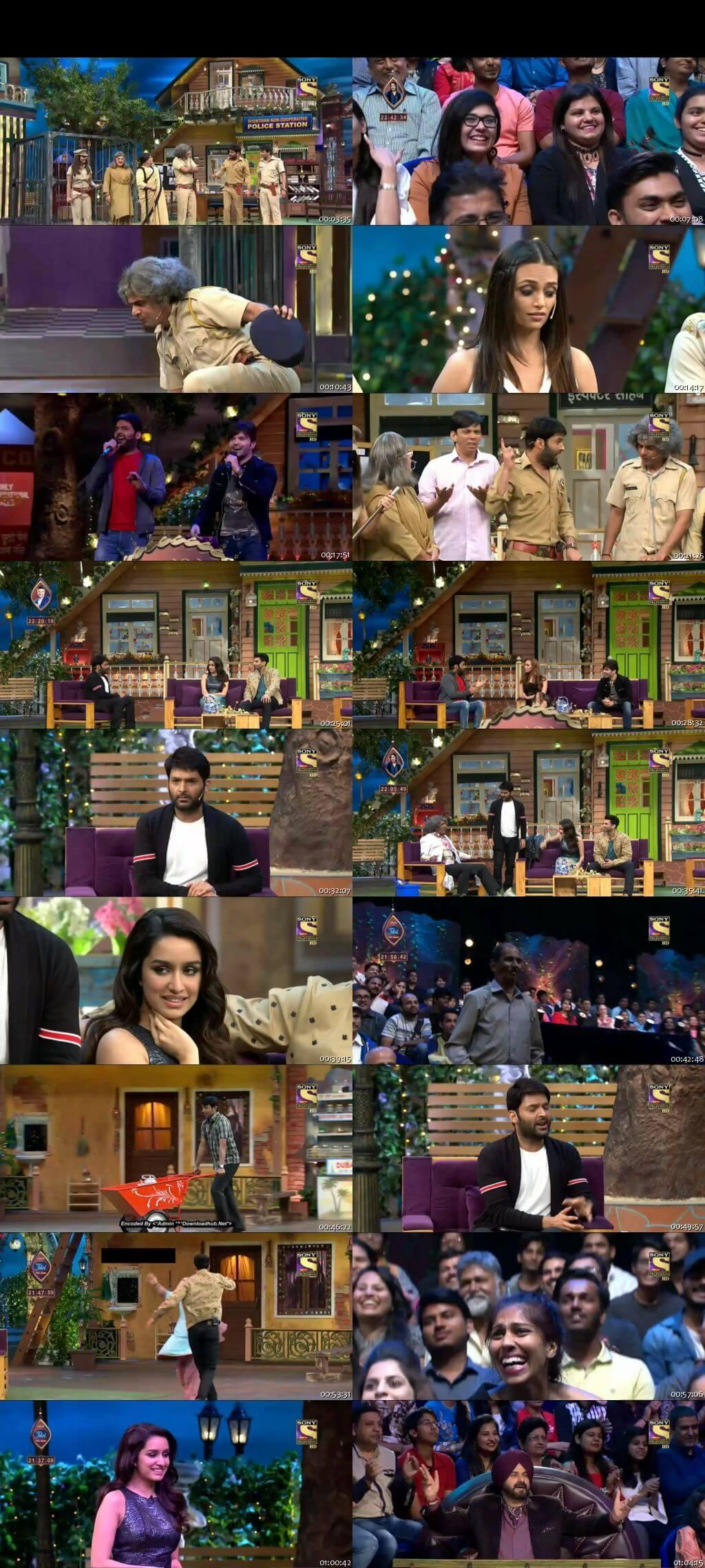 Screen Shot Of The Kapil Sharma Show 7th January 2017 Episode 72 300MB Watch Online