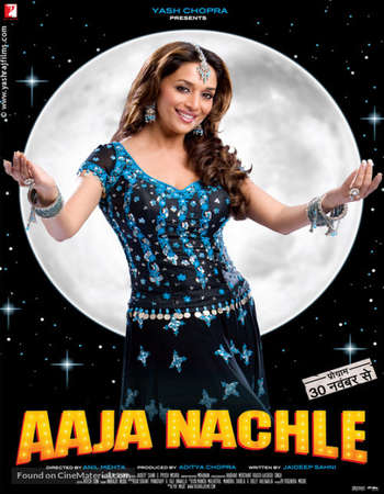 Poster Of Aaja Nachle 2007 Hindi 500MB HDRip 720p HEVC Watch Online Free Download downloadhub.net