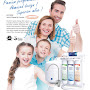 PurePro® EZ-105 / EZ-105P Easy-Change Reverse Osmosis Water Filtration