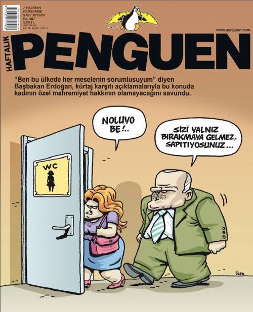 Penguen Dergisi | 7 Haziran 2012 Kapak Karikatürü