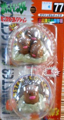 Diglett  Pokemon figure Tomy Monster Collection series