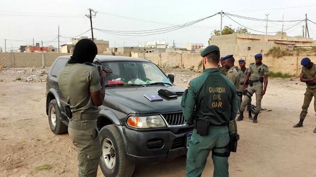 El Grupo de Acción Rápida de la Guardia Civil actúa en el Ejercicio FLINTLOCK 16