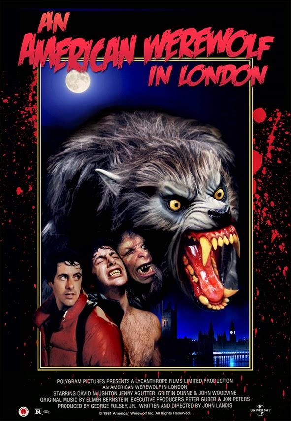 An American Werewolf in London - Amerykański Wilkołak w Londynie - 1981