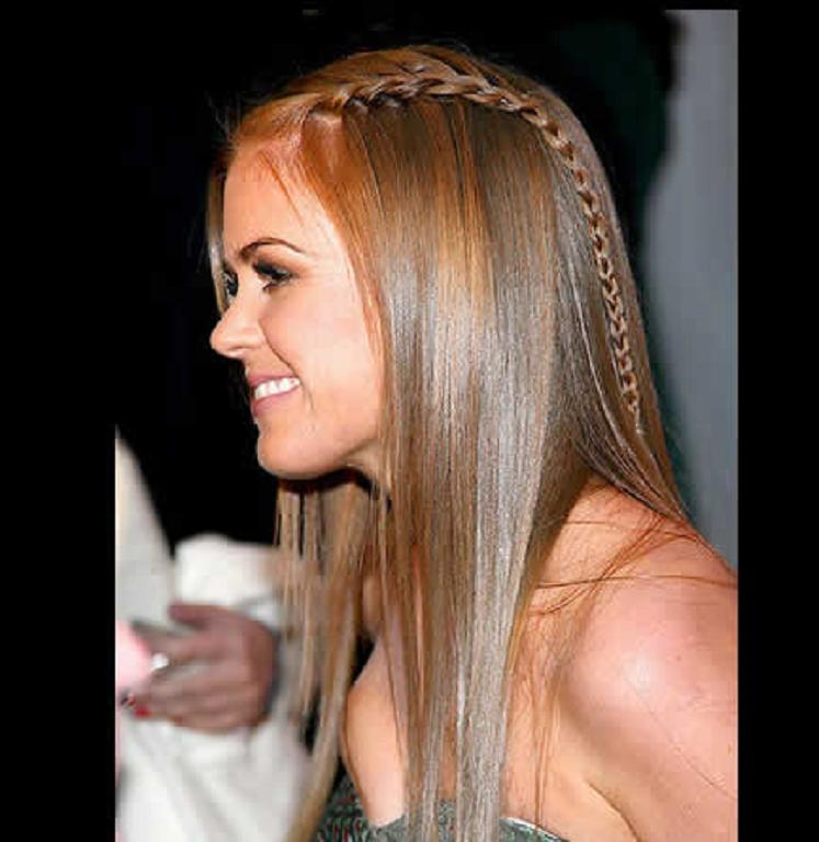 Instrucciones peinados para gente con entradas Fotos de cortes de pelo estilo - Peinados con trenzas para mujer 2013 - Peinados cortes de pelo
