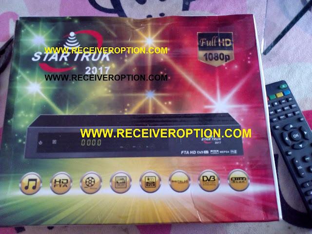 STAR TRUK 2017 HD RECEIVER POWERVU KEY NEW SOFTWARE