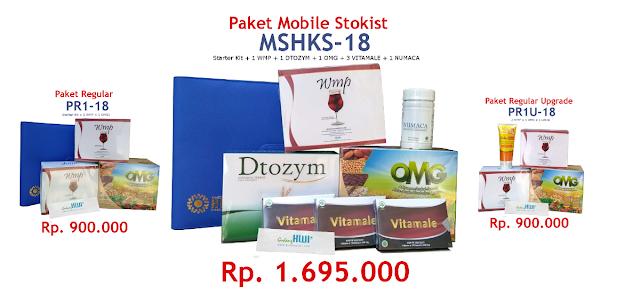 Paket Pendaftaran Distributor MS HWI 2019