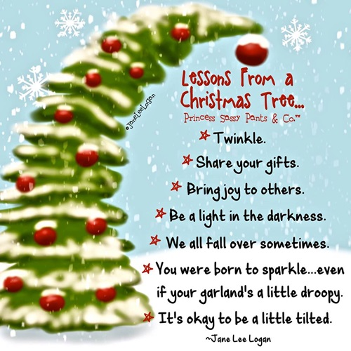 Christmas Tree Quotes: Sweet Nothings: ...some Cute Christmas Homes