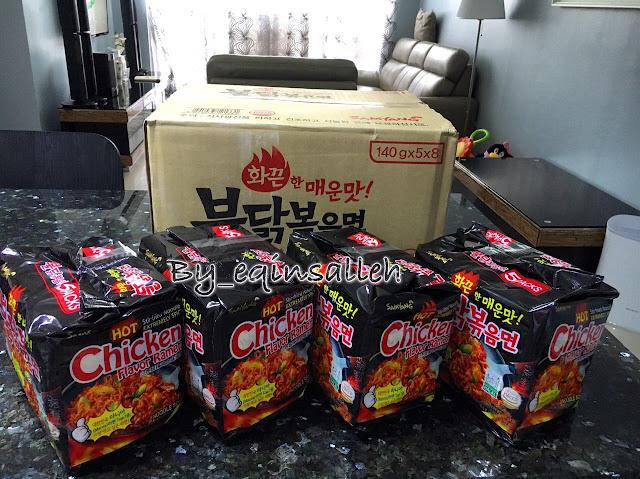 Samyangramenchallange, Spicy Korean Noodle Challenge