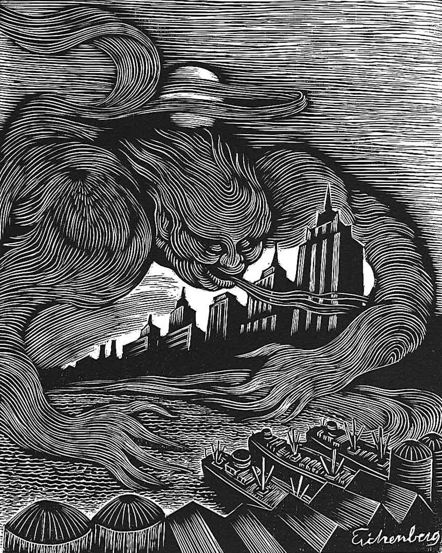 Fritz Eichenberg illustration