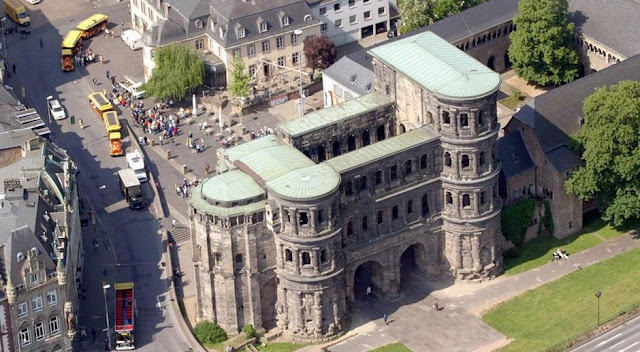 Exact date of construction of Trier's Porta Nigra determined