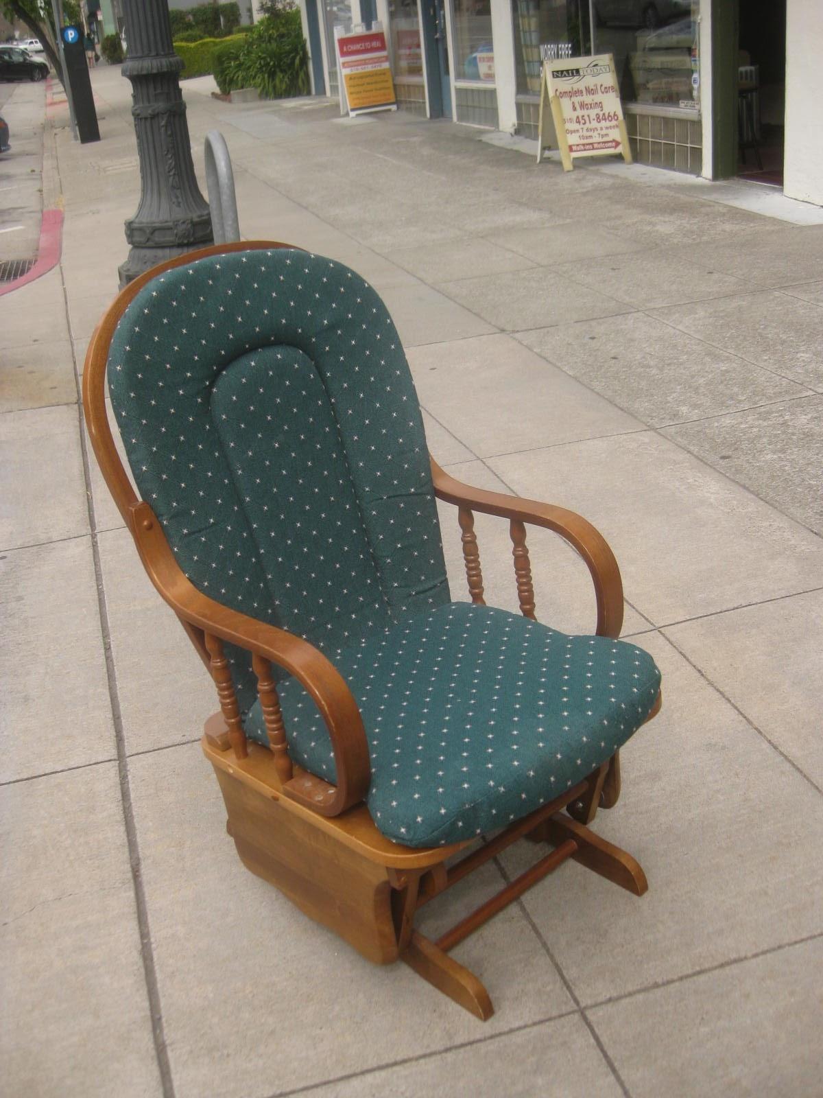 Green Rocking Chair Eddie Bauer Uhuru Furniture And Collectibles Sold
