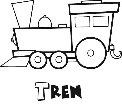 Dibujos Para Imprimir Y Colorear Trenes Para Colorear