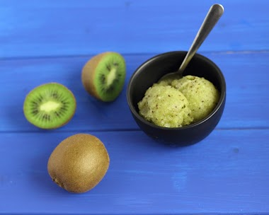 Kiwi Sorbet Recipe for Kids