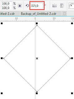 Cara Membuat Efek Logo Berantai Dengan Corel Draw