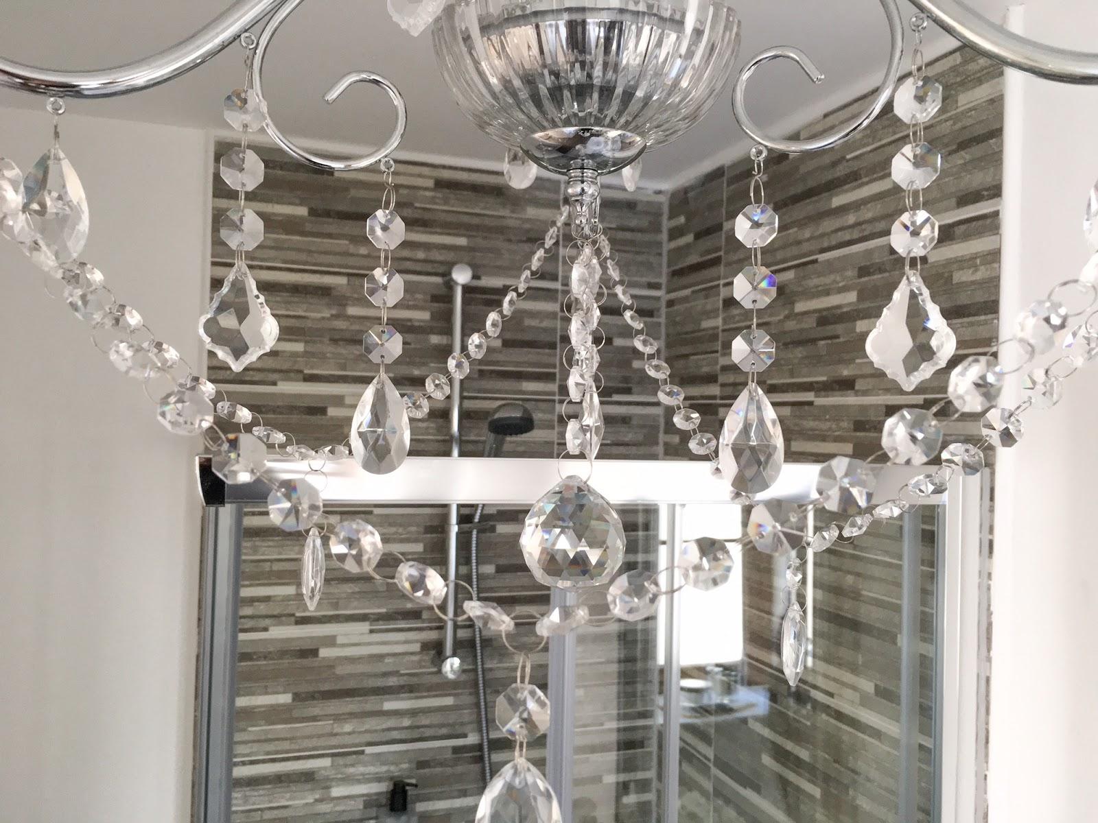 Vara 3 Light Bathroom Chandelier - A