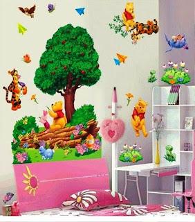 Gambar Wallpaper Dinding Winnie the Pooh Terbaru dan Lucu 200167