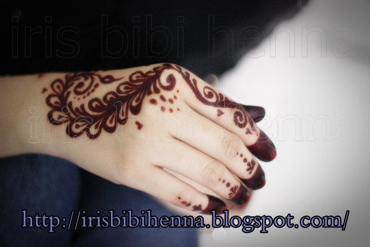 Contoh Ukiran Henna Simple Makedes Com