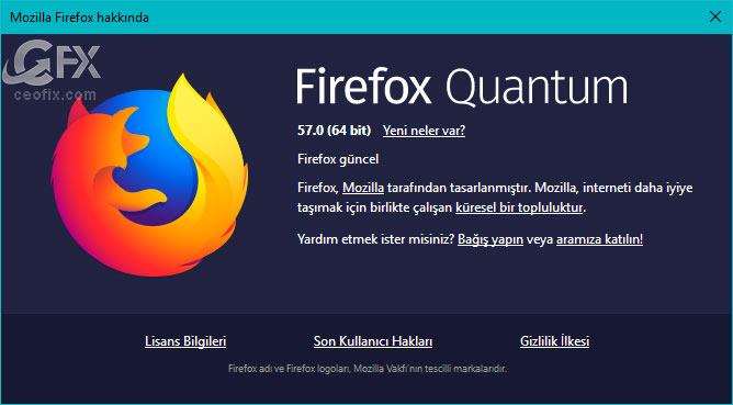 Firefox'u nasıl güncellerim