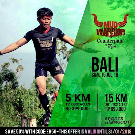 Bali Mud Warrior 4 • 2018