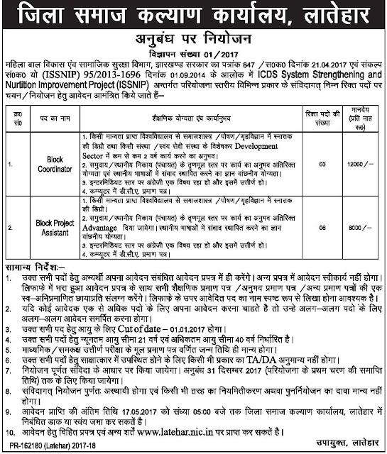 District Social Welfare Department