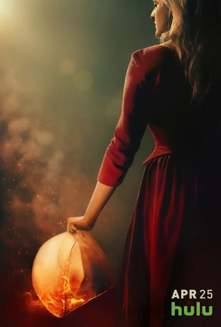 Poster de la segunda temporada de The handmaid's tale.
