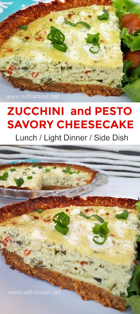 Delicious Lunch or Light Dinner with a crunchy salad - or serve as a side dish