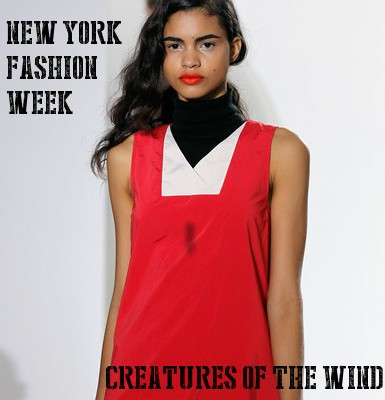 Creatures of the Wind NYFW