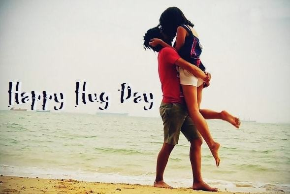 Happy Hug Day Images for Wife