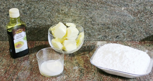 Ingredientes cupcakes de frambuesa