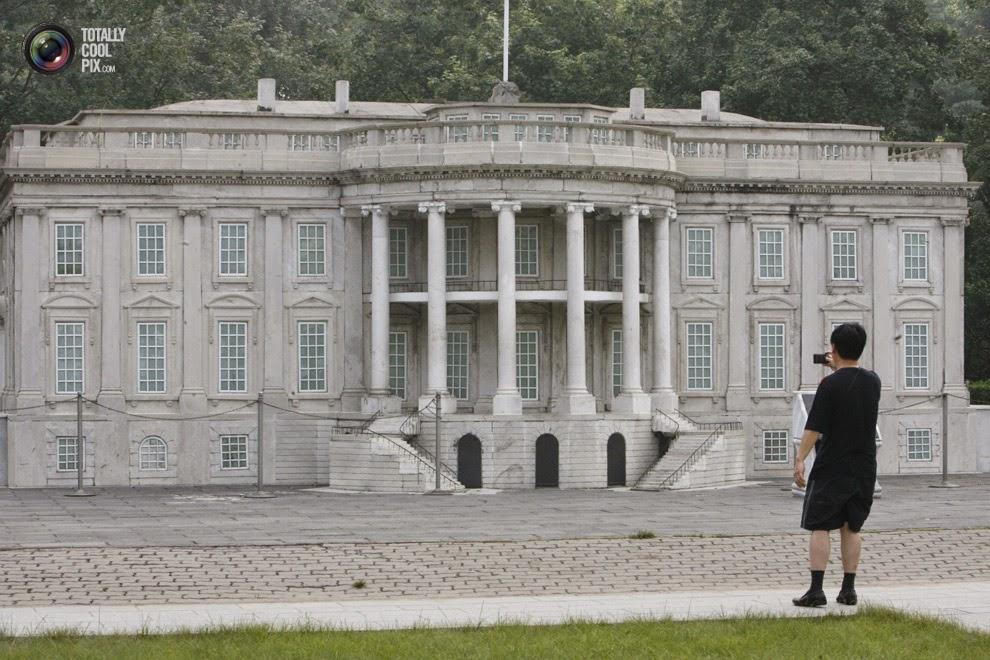 Replika Gedung Putih