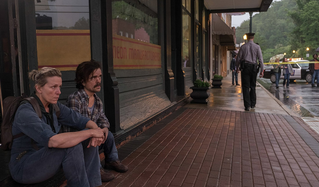 Tres Anuncios en las Afueras - Frances McDormand, Peter Dinklage