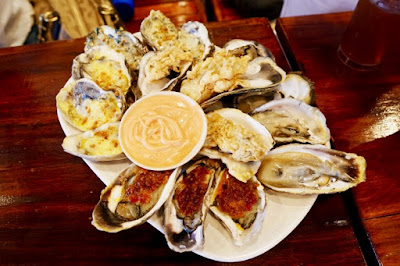 An Oyster Sampler Platter would be perfect for all Oyster fans.