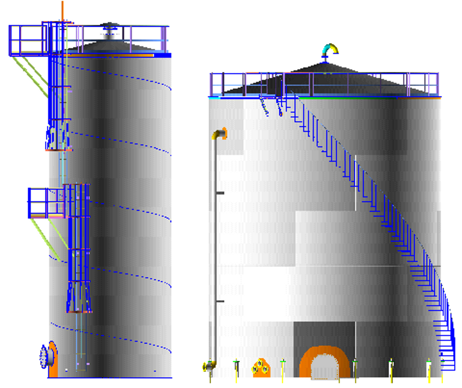 Water Tank Stairs : Ame tank free download