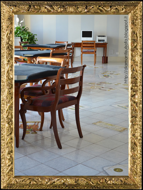 Hotel della Regina Isabella - sala