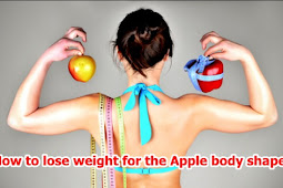 How to lose weight for the Apple body shape