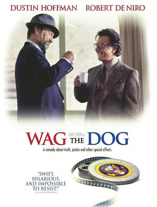A (hybrid) expository essay : Whose Reality /Wag the Dog