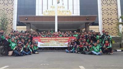 100 Anggota Gaspool dan URC Gaspool Ikuti Pelatihan Garda Kamtibmas