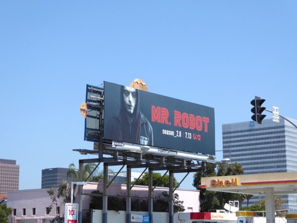 Mr Robot season 2 billboard