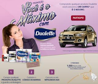 Promoção 'Você é o máximo com Dualette'