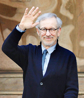 Oscar-winning-film-director-Steven-Spielberg-waves-to-the-fans-and-media-after-his-visit-to