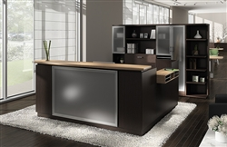 Zira Reception Desk from Global Total Office