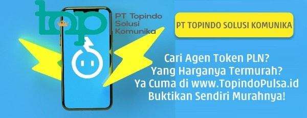 TopindoPulsa.id PT Topindo Solusi Komunika Termurah Agen Token PLN Prabayar Harga Termurah