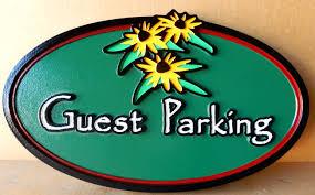 placas de estacionamento