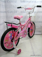 3 Sepeda Anak Kasea Waikiki 18 Inci
