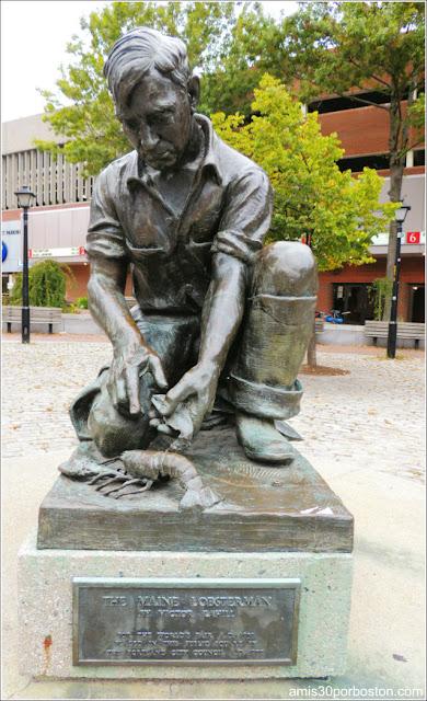 Estatua del Pescador de Langostas