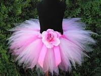 designer short pink tutu