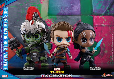 Thor Ragnarok Cosbaby Mini Figure Series by Hot Toys x Marvel