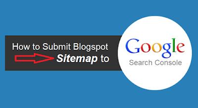 كيفية إرسال خريطة موقع بلوجر إلى محرك البحث جوجل ؟